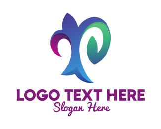 Decorative - Decorative Letter P logo design
