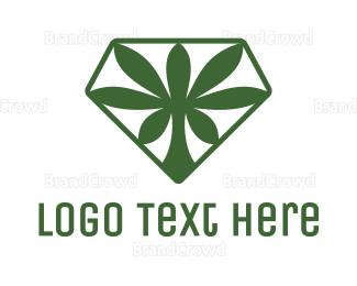 Cbd - Super Cannabis logo design