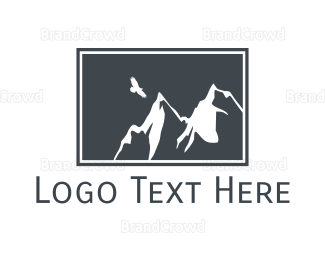Lawyer - Grey Mountain Eagle logo design
