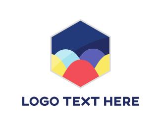 Holiday - Colorful Eggs logo design