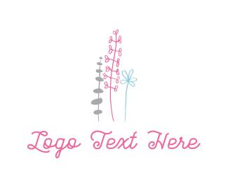 Blossom - Cute Garden logo design