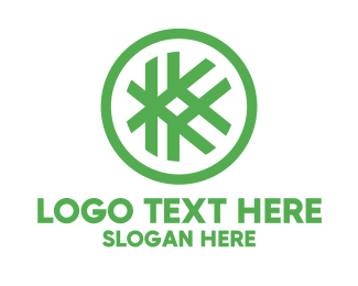 Sew - Hashtag K Badge logo design