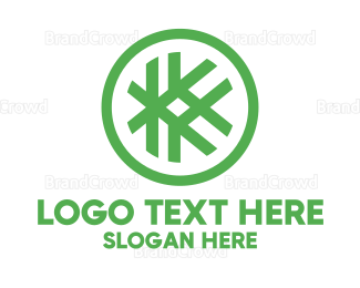 Alteration - Hashtag K Badge logo design