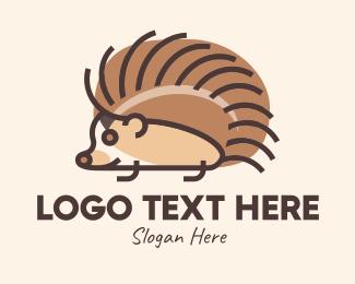 Pet Store - Pet Hedgehog logo design