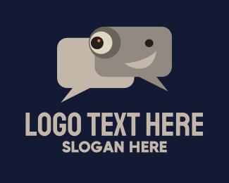 Specs - Spy Camera Chat logo design