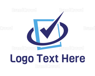 Correct - Approved Document  logo design