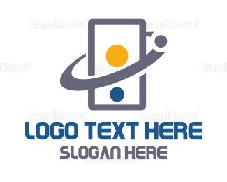Cell - Cell Orbit logo design