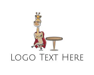 Giraffe - Super Giraffe logo design