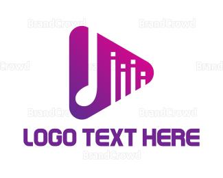 Mobile Phone - Youtube Music logo design