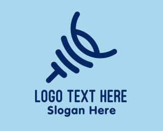 Logo - Abstract Scorpion logo design