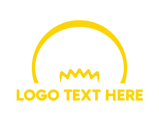 Beam - Yellow Bulb logo design