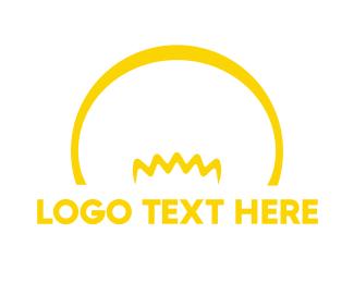 Lightbulb - Yellow Bulb logo design
