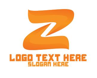 Lettermark Z - Fire Letter Z logo design