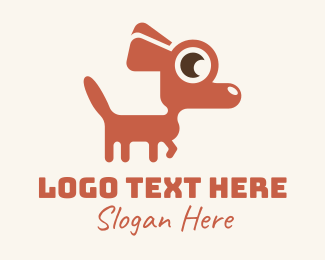Dog Adoption - Red Chihuahua Dog logo design