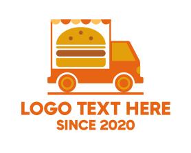 Burger - Burger Food Truck logo design