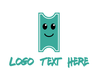 Bill - Happy Ticket logo design