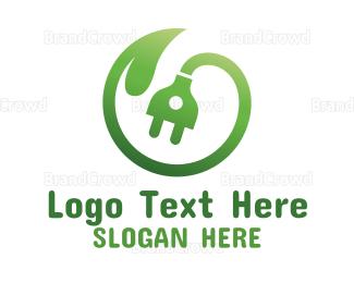 Environmental - Green Leaf Energy logo design