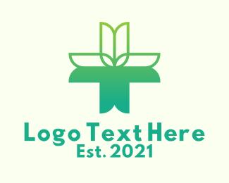 Medicinal - Tulip Alternative Medicine logo design