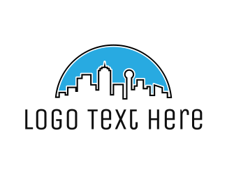 Dallas - Dallas Skyline  logo design