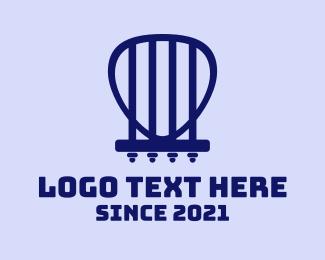 Strings - Minimalist Guitar Strings logo design