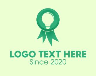 Prize - Green Innovation Award logo design