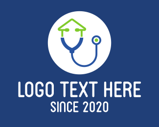 Medical Consultation - Home Medical Check Up logo design