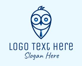 Intelligent - Watch Owl Recruitment logo design