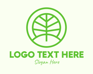 Forest - Green Eco Forest logo design