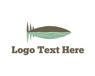Boating - Fish Mountain logo design
