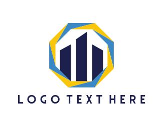 Skyscraper - Realty Buildings logo design