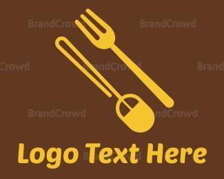 Food Blog - Food Shop Online logo design