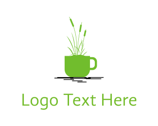 Pond - Coffee Garden logo design