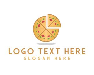 Slice - Pizza Pie  logo design