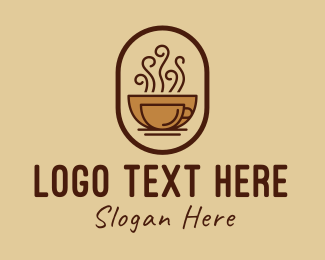 Hot Chocolate - Hot Coffee Cafe logo design