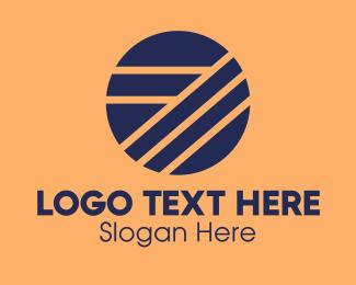 Simple - Circle Number 7 Business  logo design