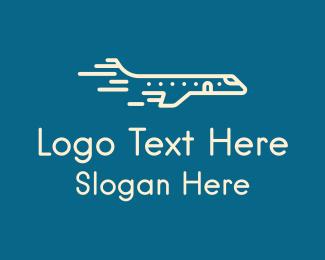 Jet - Fast Flying Jet logo design