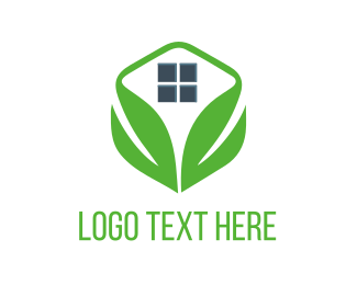 Home - Green Home logo design