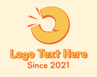 Messaging - Orange Communication logo design
