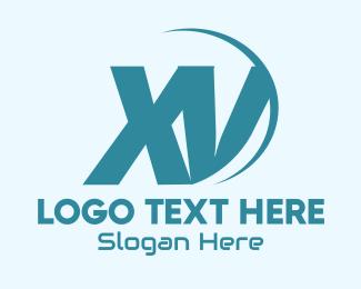 Global Tech Business X & V Logo