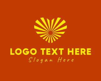 Positive - Sunny Love logo design