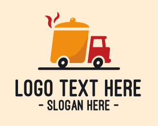 Pan - Hotpot Food Truck logo design