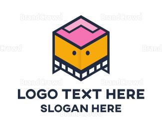 Nursery - Box Robot logo design