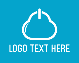 Electronic - Cloud Power logo design