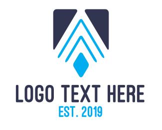 Apex - Modern Geometric A  logo design
