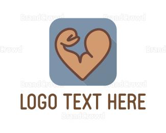 Better - Strong Biceps logo design