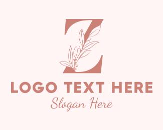 Leaf - Elegant Leaves Letter Z logo design
