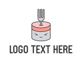 Cute - Cute Fork logo design