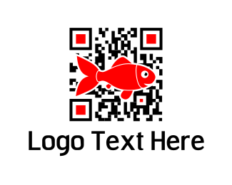 Bar Code - Fish Code logo design