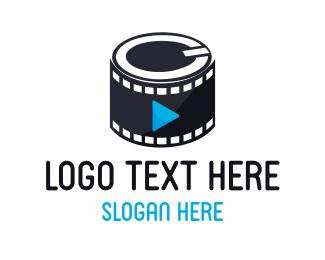 Videographer - Media Film logo design