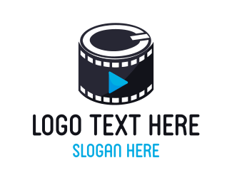 Play - Media Film logo design